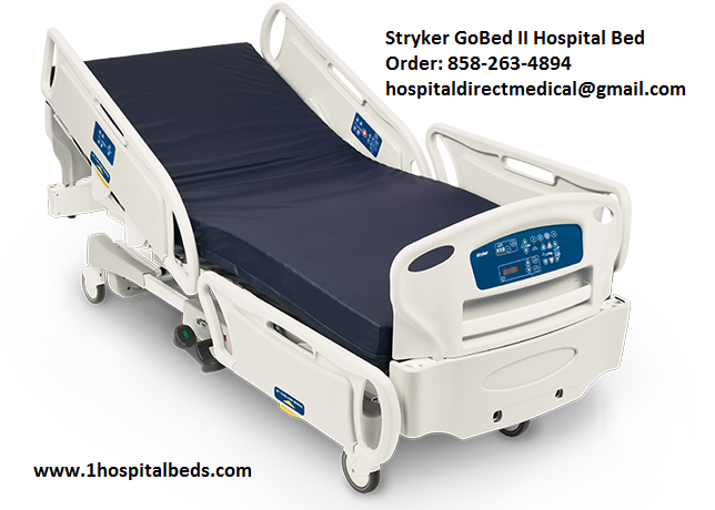 Stryker GoBed 2 Hospital Bed for sale 858-263-4894