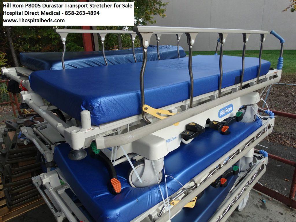 Hill Rom P8005 Durastar stretcher gurney for sale